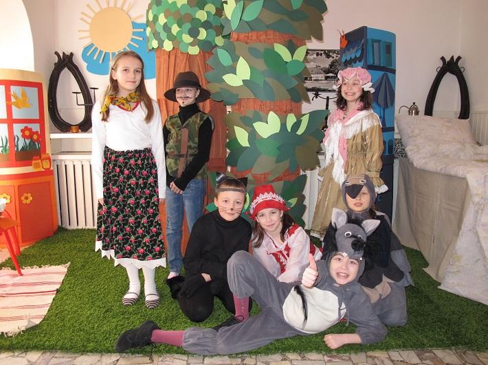 Przedstawienie dla dzieci w języku angielskim