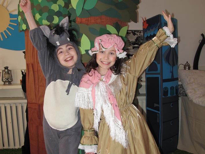 Przedstawienie dla dzieci po angielsku