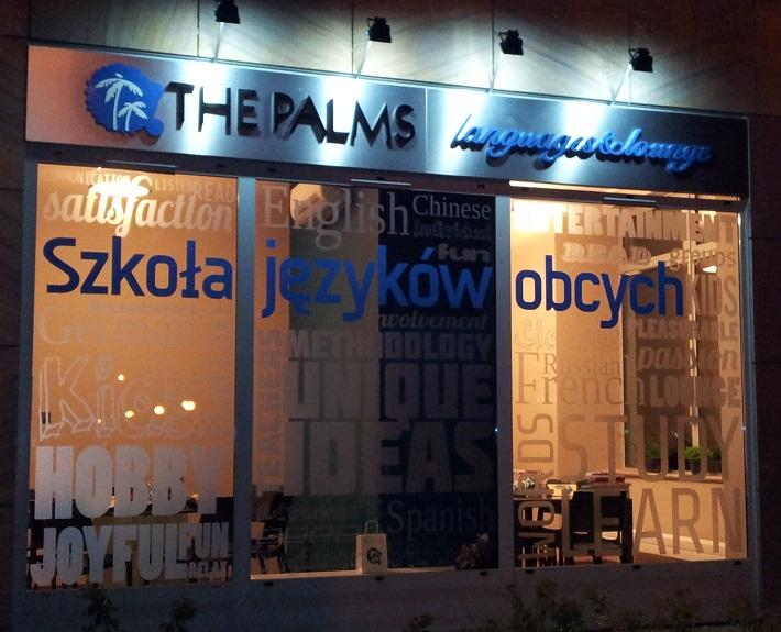 Noc zapisów w szkole językowej The Palms