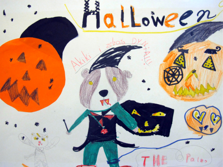 Angielski dla dzieci w Wilanowie - świętujemy Halloween i poznajemy tradycje krajów anglojezycznych